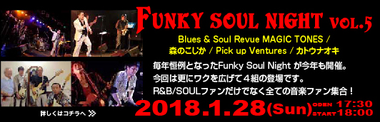 Funky Soul Night Vol5